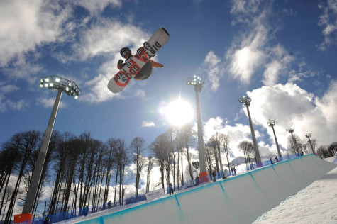 Snowboarders at Sochi Winter Olympics complain about half-pipe