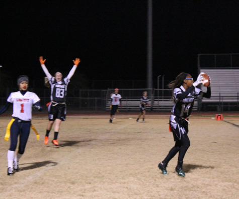 Panthers crush the Patriots in Flag Football