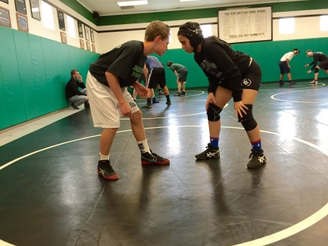 Schneidman becomes first lady wrestler at Palo
