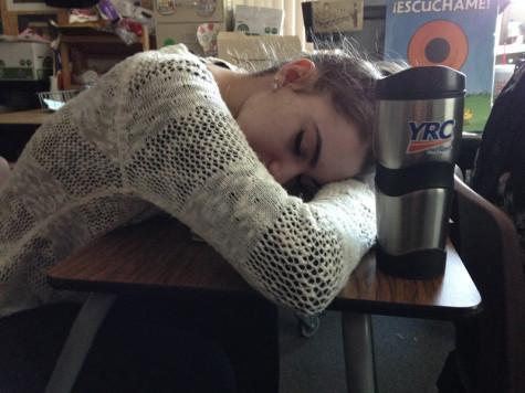 Teenagers suffer sleep deprivation