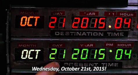 "Great Scott! Vegas celebrates ""Back To The Future"" day"