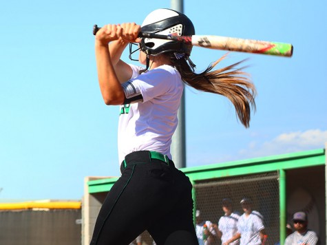 Softball stomps the Gaels in 14-0 sweep