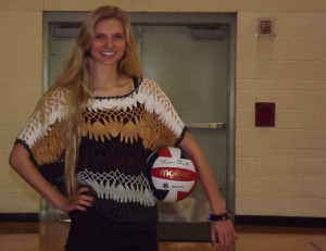Senior Stephanie Herman reflects on four glorious years of women's volleyball.
