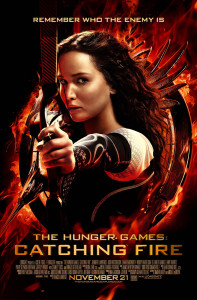 Jennifer Lawrence's Katniss takes aim at the young adult audience.