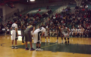 Men's Varsity Basketball wins with a miracle shot in annual Hope Game