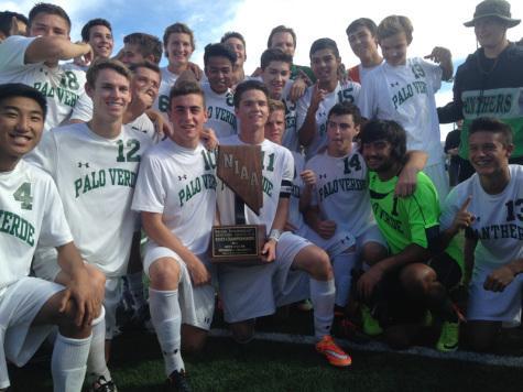 Men's soccer wins State Championship