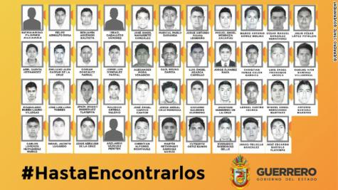 Mexican police kidnap 46 students