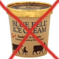 CDC orders recall on Blue Bell Ice Cream