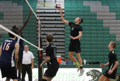 Men's volleyball takes down Legacy Longhorns