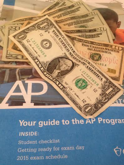 This year's price to pay for one AP exam