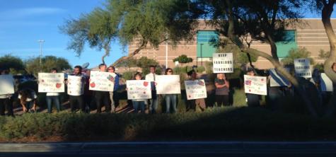 Teachers across Las Vegas protest amidst problems with CCSD