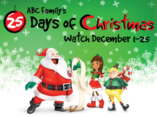 abc family hosts its annual 25 days of christmas from dec 1 through dec 25 - Abc 25 Days Of Christmas