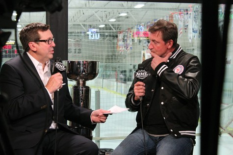 Wayne Gretzky and his Fantasy Camp