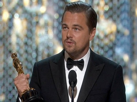 Leo and his Oscar
