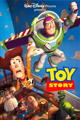 A promotional poster for Toy Story.