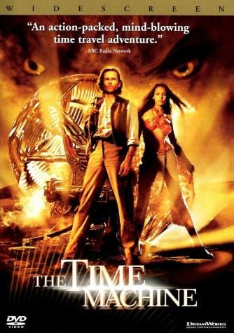 """The 2002 movie cover of """"The Time Machine"""""""