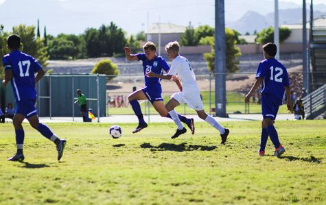 Landslide Win for Men's Soccer Against Green Valley
