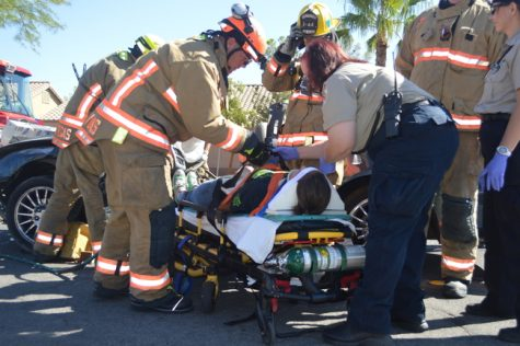 Every 15 minutes simulation shocks students on the reality of drinking and driving