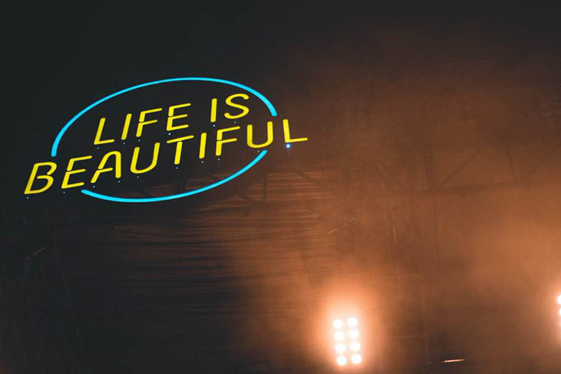 Life is Beautiful captures the heart and soul of fans everywhere and brings people together as one through the power of music