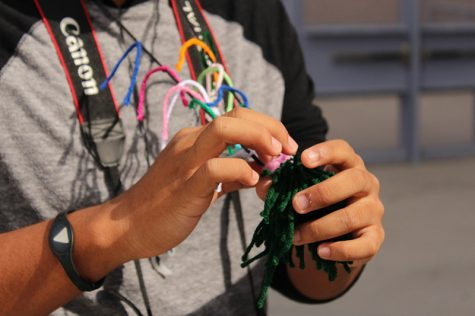 Warm fuzzies were created and designed with yarn to enhance Respect Week at Palo from Monday, Oct. 3 through Friday, Oct. 7