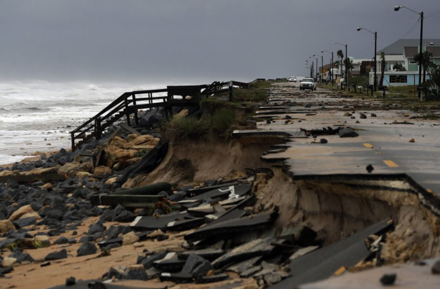 A+portion+of+Highway+A1A+is+washed+away+in+Flagler+Beach%2C+Fla.+from+storm+surge+generated+by+Hurricane+Matthew.
