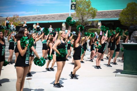 Pep Rally Sparks School Pride for First Home Game