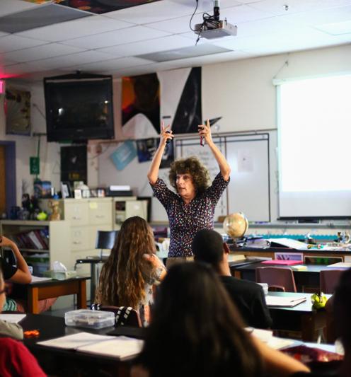 Teacher of the Century: Cheryl Waldman