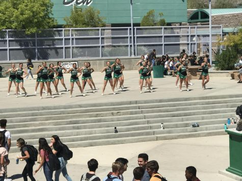 Palo Puts the 'Pep' in Pep Rally