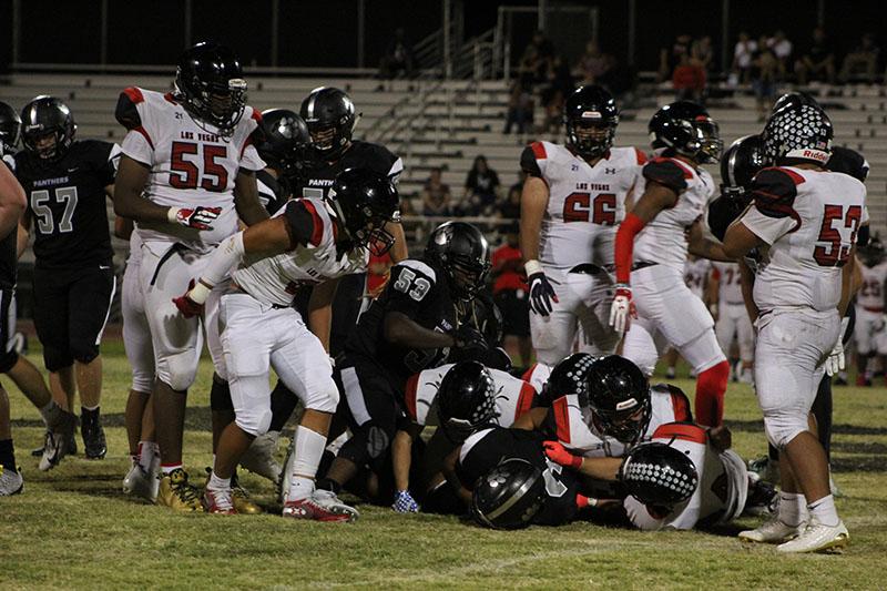 Palo Varsity Football vs Las Vegas High School