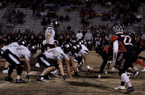 Varsity Football Battles Faith Lutheran Crusaders for Senior Night