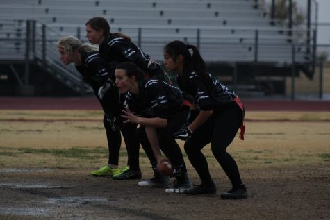 Panthers Crush Clark Chargers in Flag Football