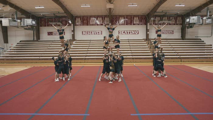 Netflix's Look at Navarro Cheer