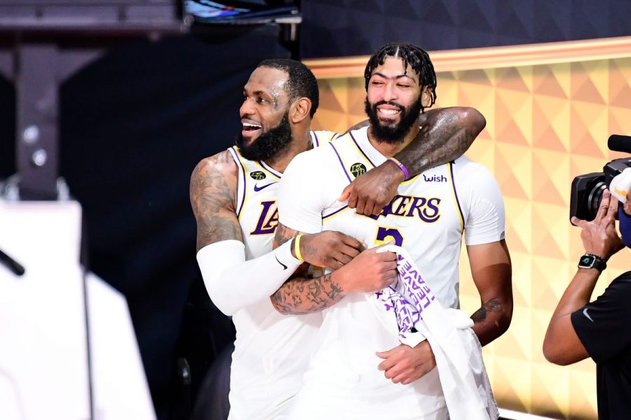 The LA Lakers are the 2020 Champions